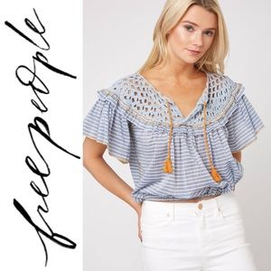NWT Free People Allora Allora Top Size Small